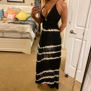 Beautiful blk n white Sky dress Sz M